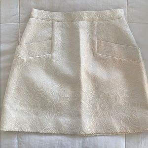 Club Monaco structured skirt